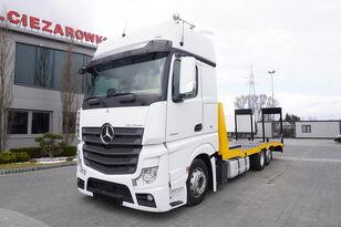 камион за транспорт на возила MERCEDES-BENZ Actros 2545 , E6 , 6x2 , NEW BODY 2021 , 7.9m , ramps , winch