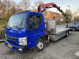 камион за транспорт на возила Mitsubishi Fuso Canter