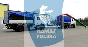 нови воен камион KAMAZ 6x6 SERWISOWO-WARSZTATOWY