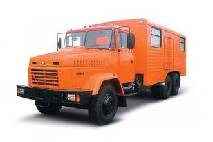 нови воен камион KRAZ 65053 мастерская