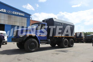 нови воен камион UNISTEAM ППУА 1600/100 серии UNISTEAM-M1 УРАЛ NEXT 4320