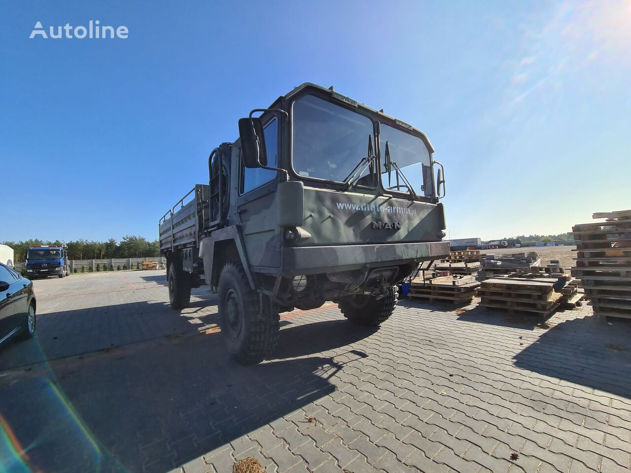 воен камион MAN 5t MIL GL WOJSKOWY TERENOWY