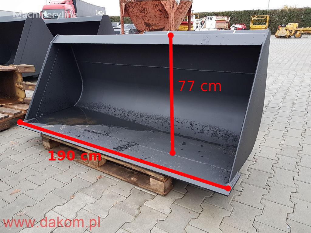 нови корпа за натоварувач skid steer loader