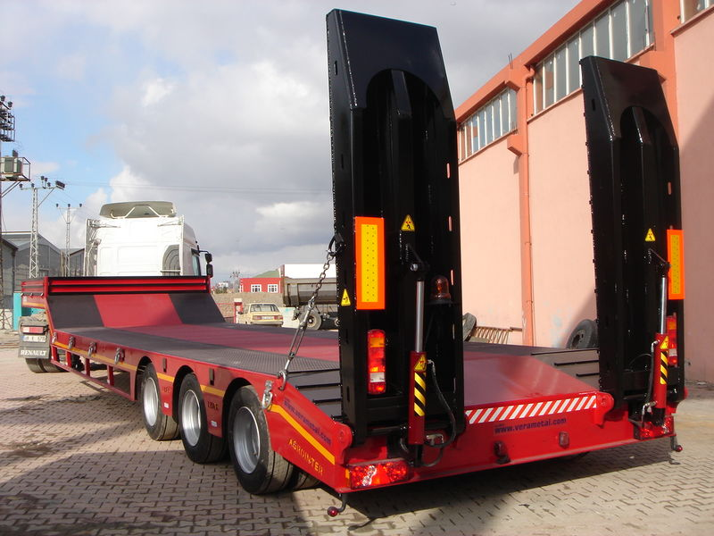 нови полуприколка со ниска платформа LIDER 2019 YEAR NEW LOWBED TRAILER FOR SALE (MANUFACTURER COMPANY)