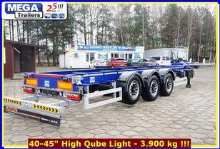 нови полуприколка за превоз на контејнери OZGUL 40-45 Fuß (HQ), MEGA Trailers Gose Neck Containerchassis BEREIT