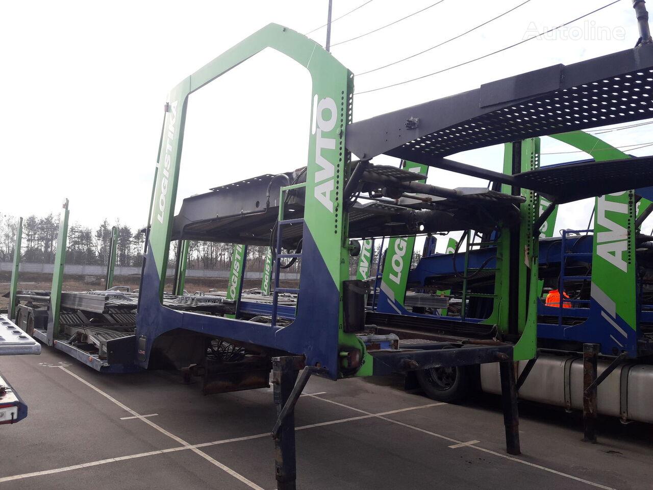 полуприколка за транспорт на возила LOHR Eurolohr 1.23 E